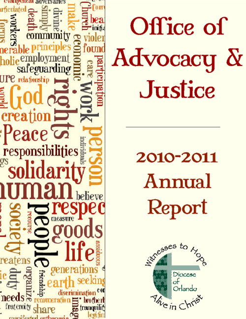 Advocacy and Justice Annual Reports