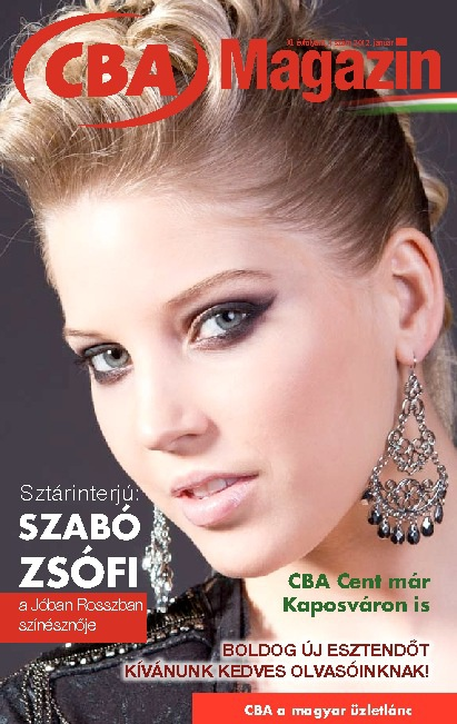 CBA Magazin január