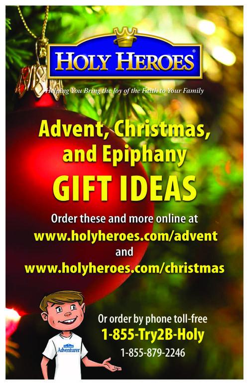 Holy Heroes Holiday Catalog
