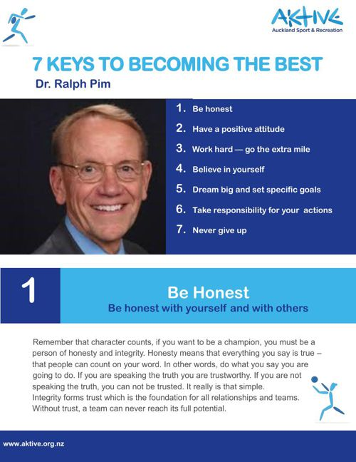 Seven Keys to Becoming the Best final