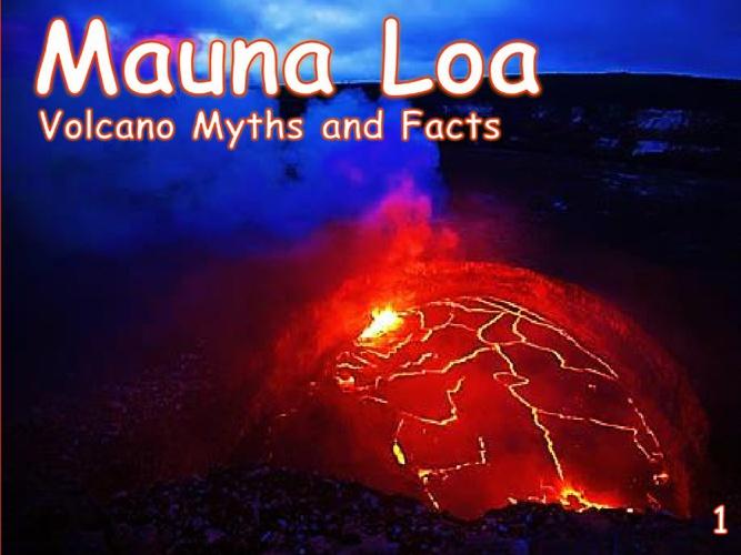 Mauna Loa Comic Inspired Handout