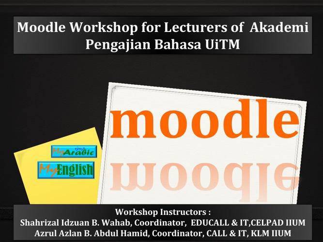 UITM Training Module 15.4.13