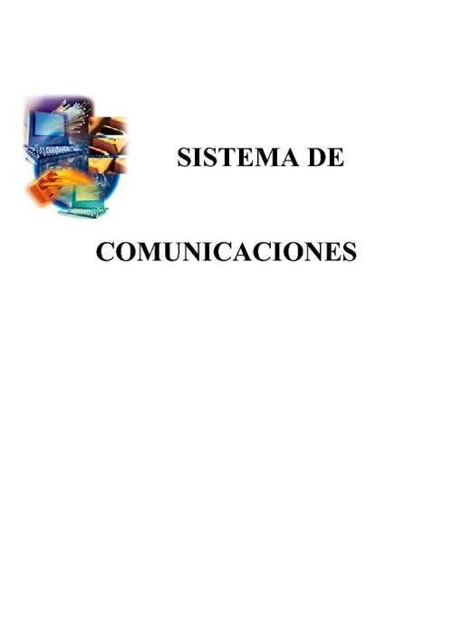 Comunicaciones Capítulo I.