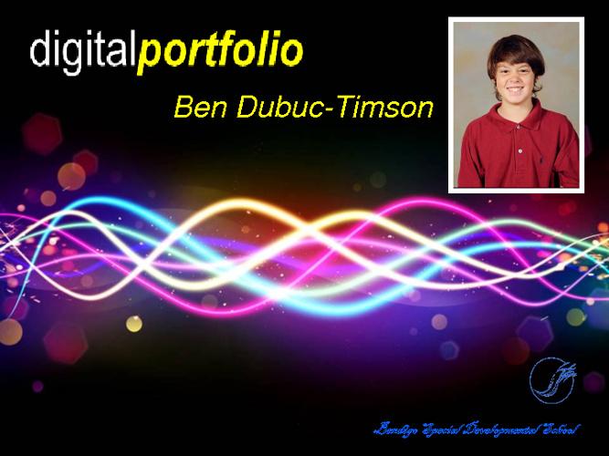 Ben's portfolio