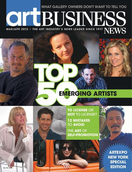 ABN Spring Issue 2012: Top 50 Emerging Artists