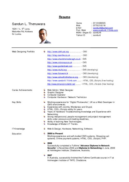 Sandun Resume