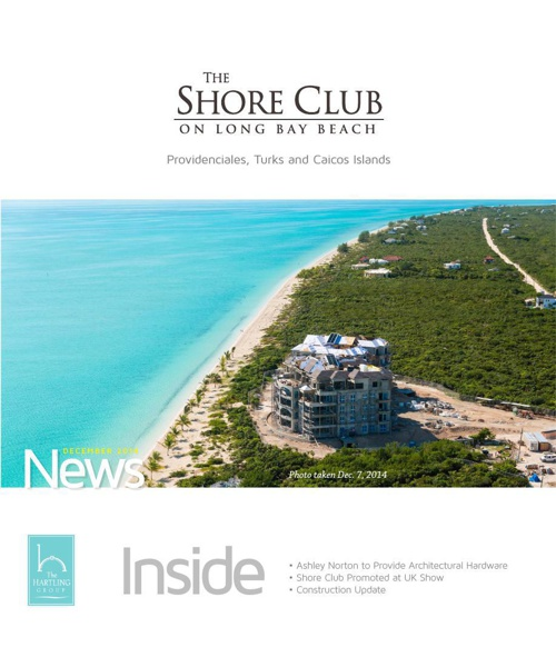 The Shore Club Newsletter | December 2014