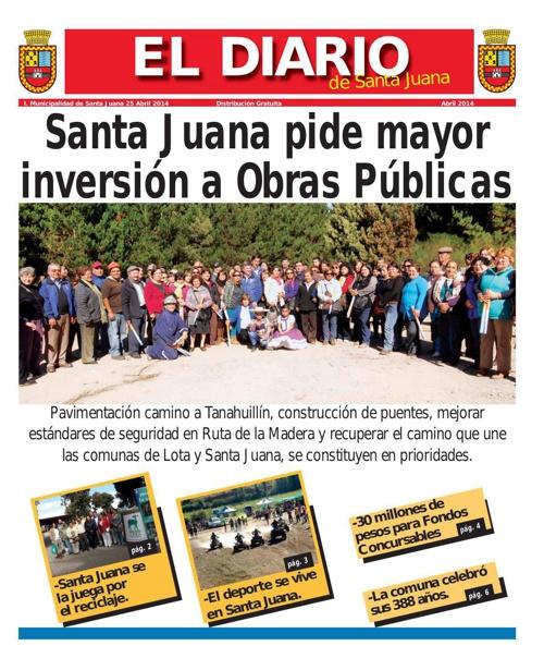 El Diario de Santa Juana - Abril 2014