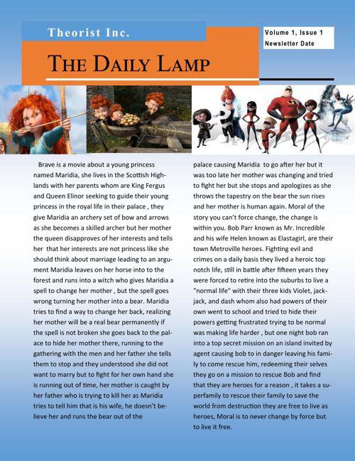 Daily Lamp