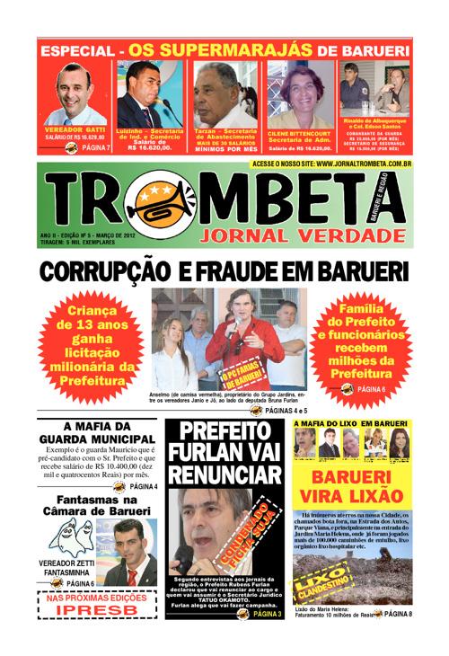 Jornal Trombeta - Março de 2012