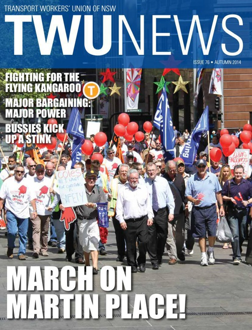 TWU News Autumn 2014