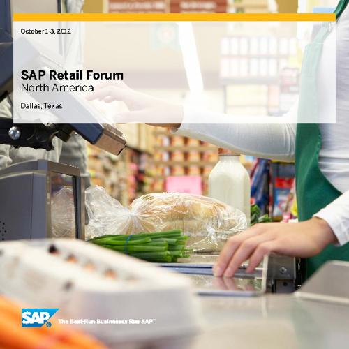 2012 SAP Retail Forum
