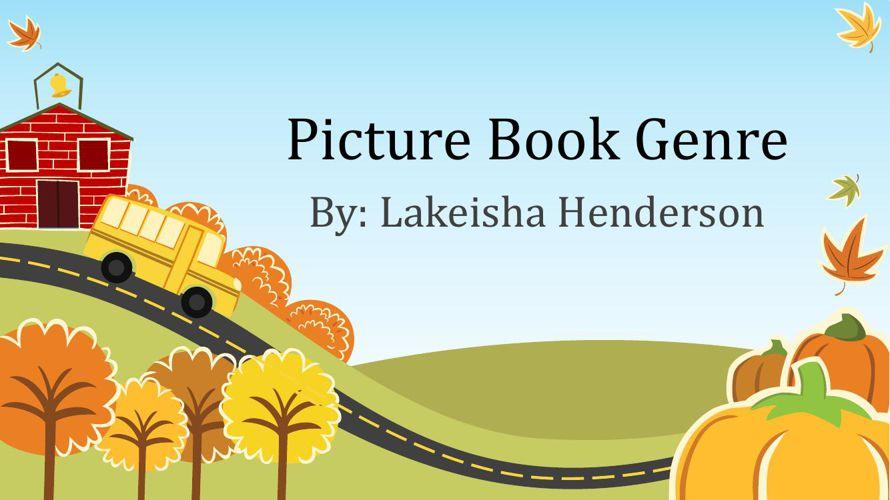 Picture Book Genre (1)