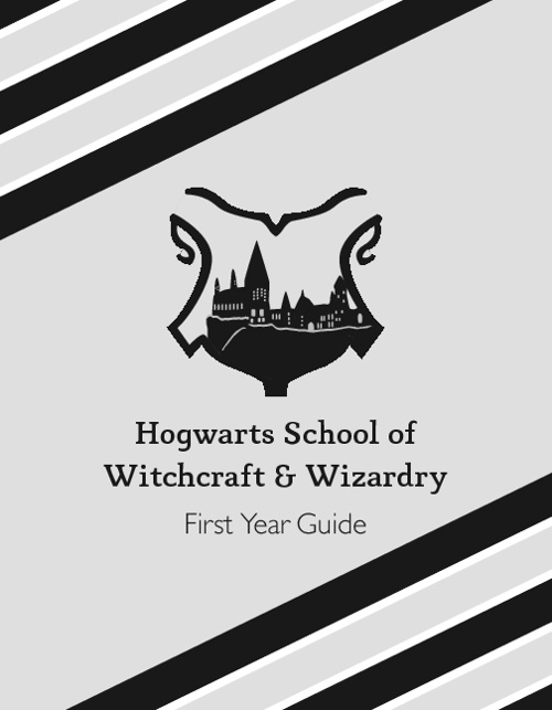 Hogwarts School of Witchcraft & Wizardry: First Year Guide
