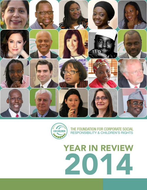 Year in Review 2014 #CSRChildren