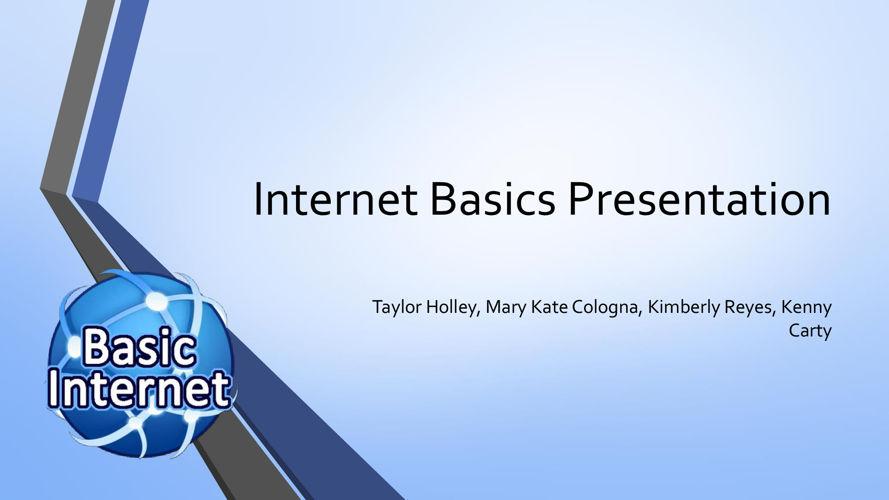 Internet Basics Presentation