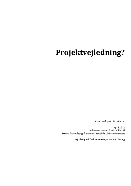 Ph.D., Birte Kaiser
