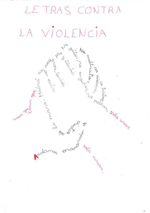 Letras contra la violencia