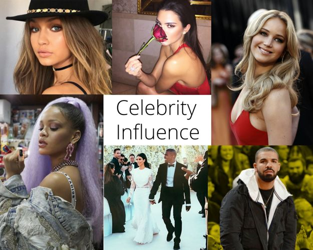 teenagers are influenced by celebrities The author's comments: i wrote about how celebrities have had negative influences teenagers because my friends and i can relate to this topic the day the 1989 album came out, october 27, 2014, my friends and.