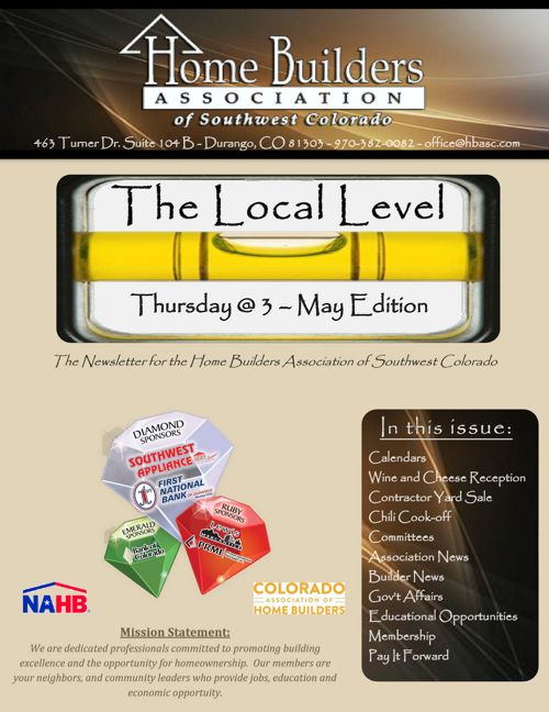 The Local Level ~ Thursday @ 3 – May Edition
