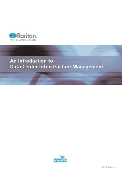 An Introduction to Data Center Infrastructure Management