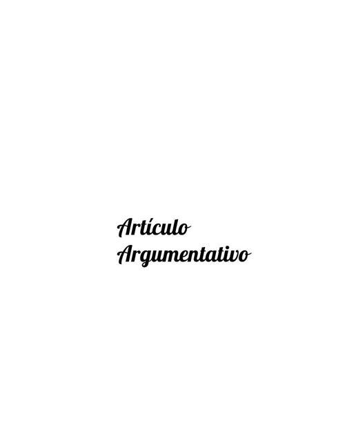 Isaac Andrade Macip 2°A-6 Artículo Argumentativo