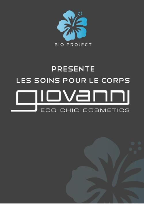 Bio Project - Book Giovanni