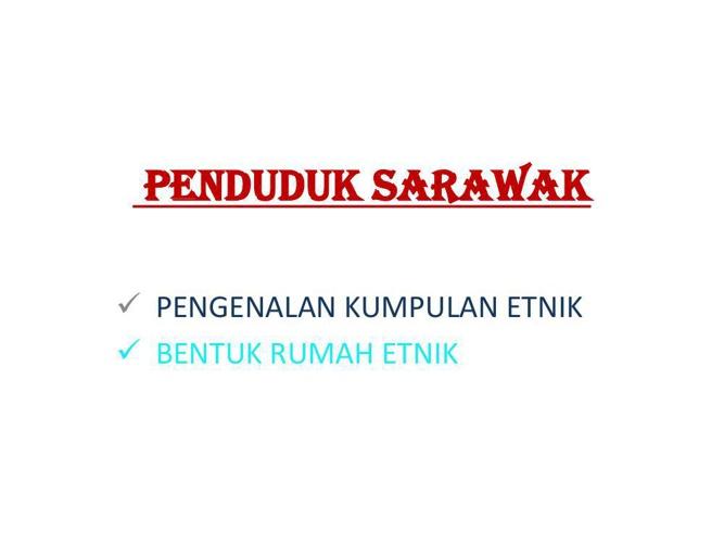 etnik sarawak1