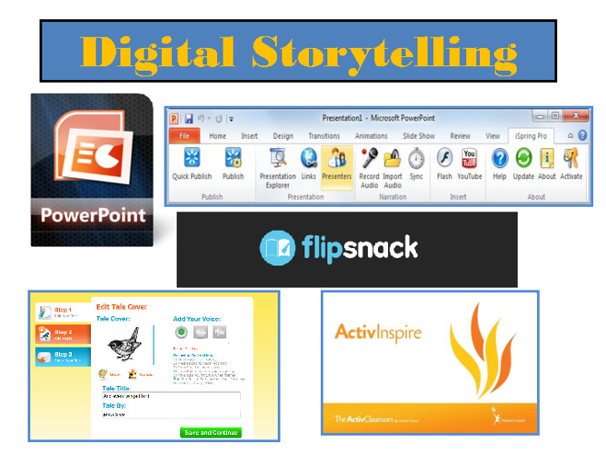 Digital Storytelling Presentation Options
