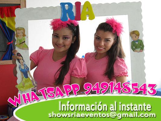 Show infantil cristiano Ria Producciones