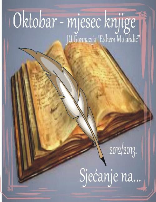 Oktobar - mjesec knjige 2012