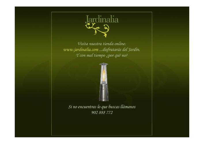 Catálogo de Estufas de Exterior 2.012-2.013