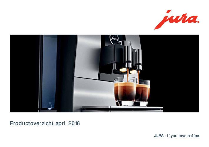 Wespresso.nl presenteert u het Jura Productoverzicht april 2016