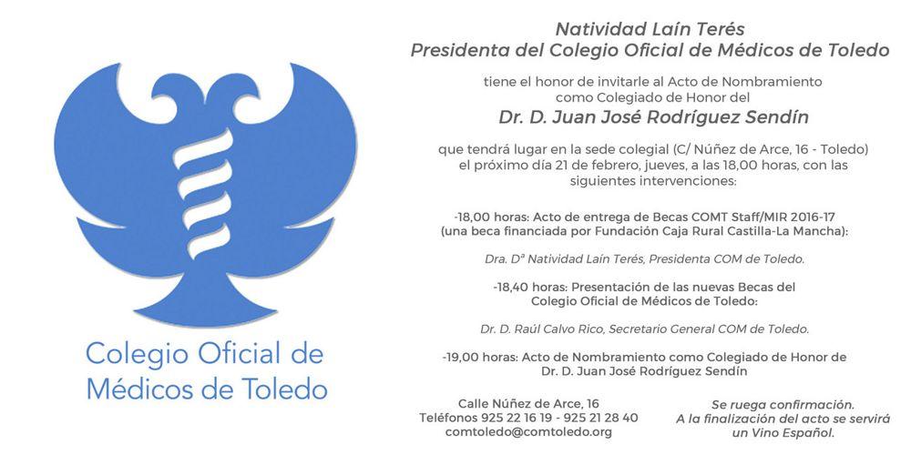 180221 invitacion acto Dr Sendin