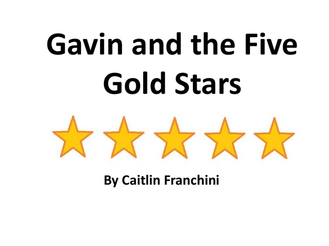 Gavin and the Five Gold Stars