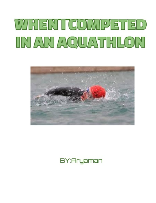 When I competed in an aquathlon