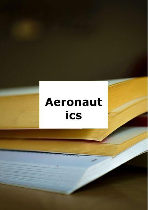 pdf aeronautics