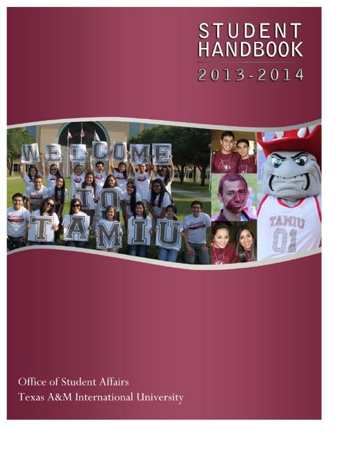TAMIU Student Handbook 2013-2014