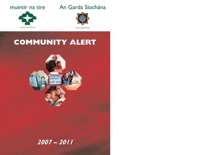 Community Alert Handbook.