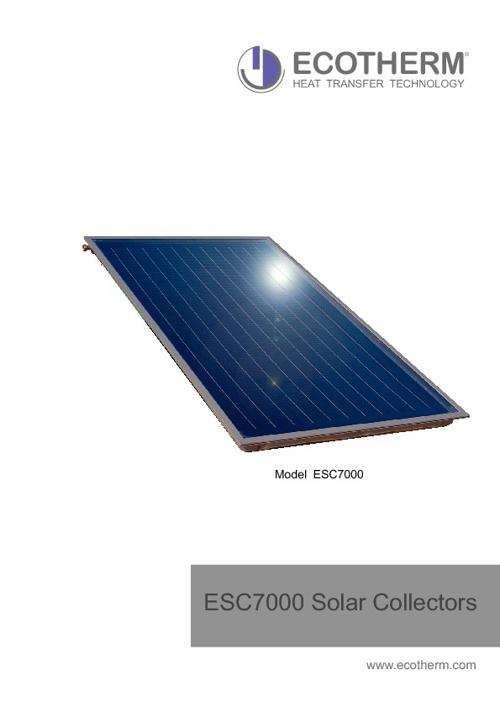 ESC 7000 Solar Collectors