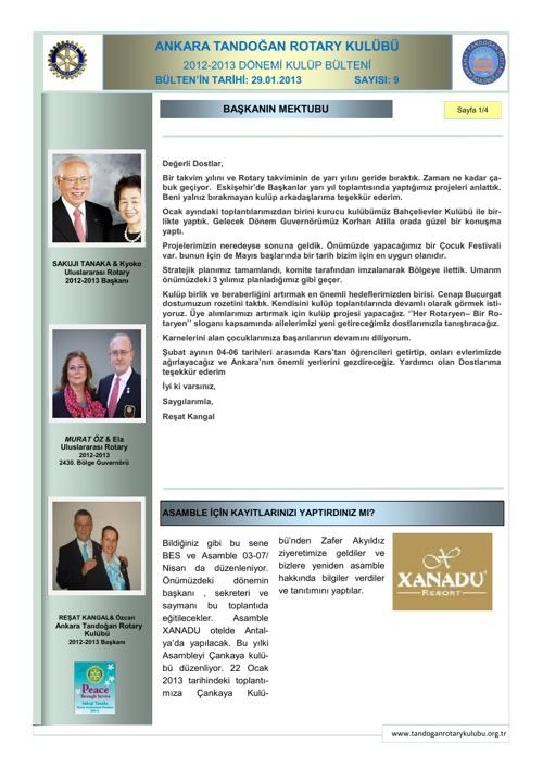Tandogan Rotary Bulten-2012-2013/09