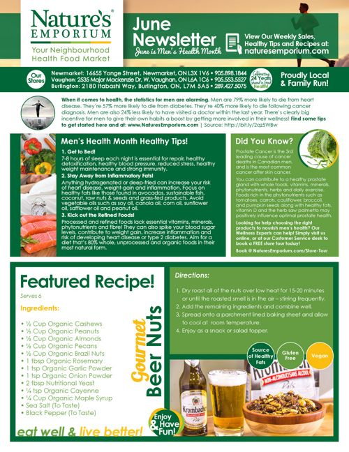 06-2017-Nature's Emporium Men's Health Month Newsletter copy