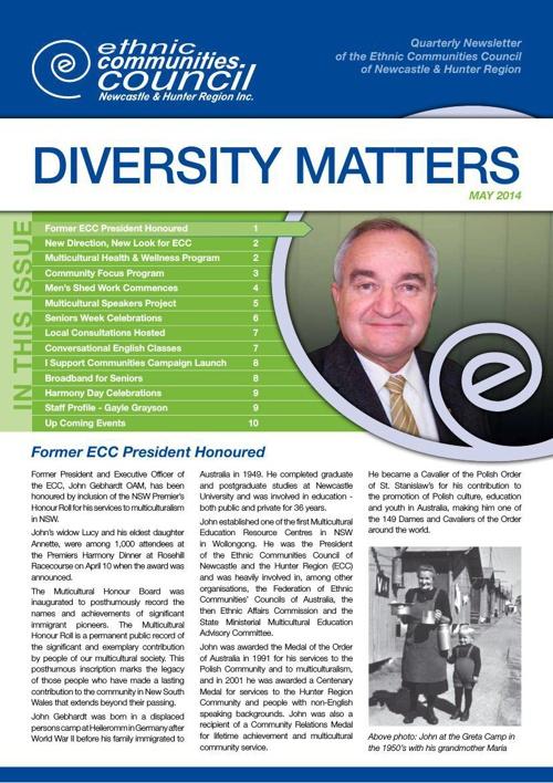 Diversity Matters May 2014