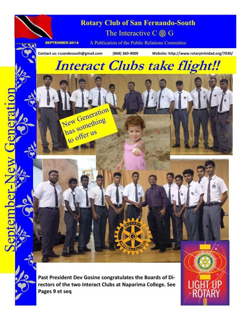 The Interactive COG-September 2014