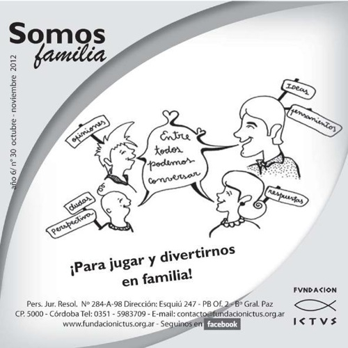 "Boletín ""Somos Familia"" N°30 - 2012"