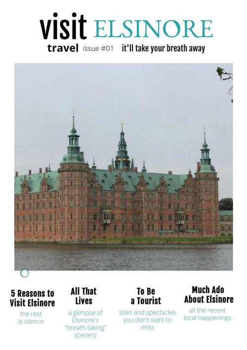 Krista Cogburn Peebles Elsinore/Hamlet Travel Brochure