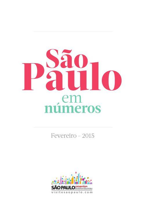 São Paulo em números | Fevereiro 2015