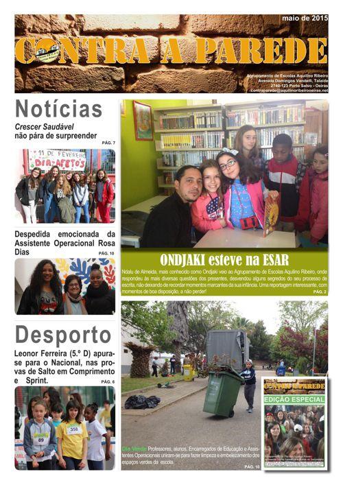 Jornal Contra a Parede - maio de 2015