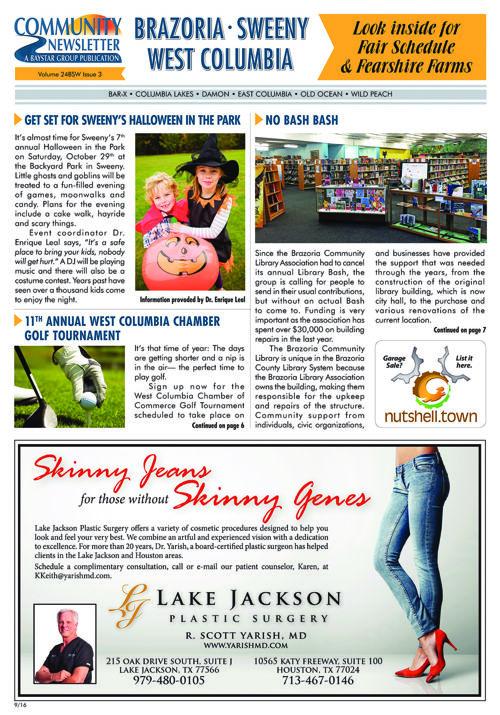 Brazoria-Sweeny-West Columbia Community Newsletter 24-3