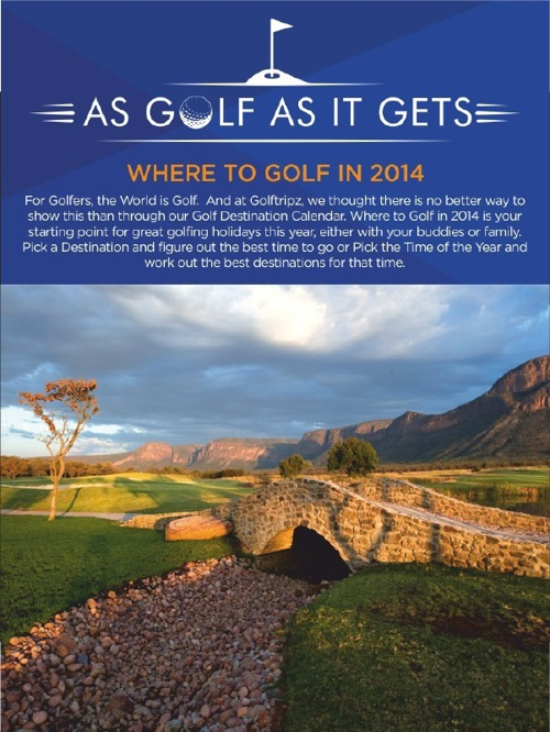 As Golf As It Gets: Where to Golf in 2014